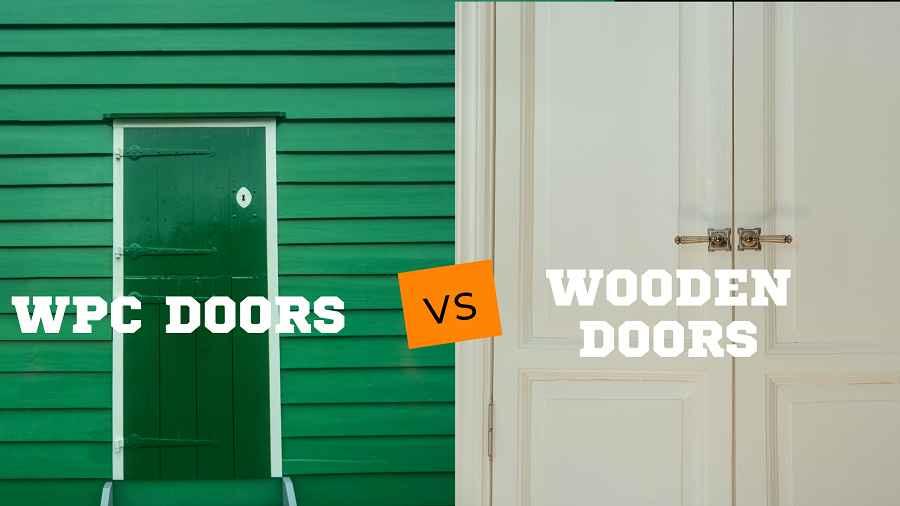 WPC Doors Vs Wooden Doors