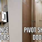 what is the differences between hinge adn pivot shower doors
